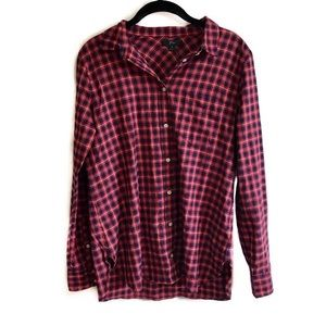 NWT J. Crew checkered lightweight flannel shirt 8
